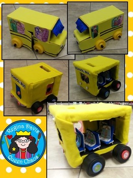 STEM Science, Technology, Engineering, Math: The Wheels On The Bus Homework