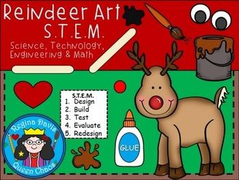 STEM Science, Technology, Engineering & Math:Reindeer Art