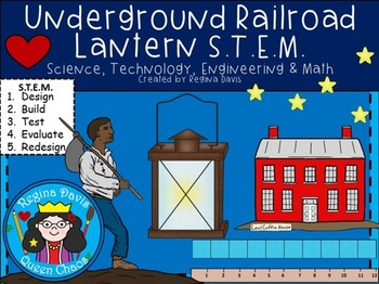 STEM Science, Technology, Engineering & Math:Underground Railroad Lantern