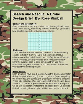 STEM: Search and Rescue Mission with Drones or Sphero's