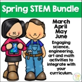 Spring STEM Bundle 43 Seasonal Challenges