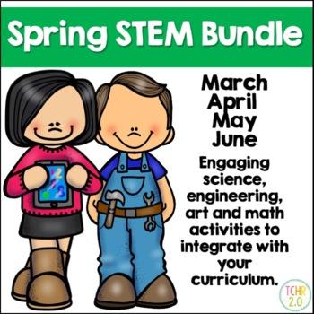 Spring STEM Bundle 41 Seasonal Challenges March April May June