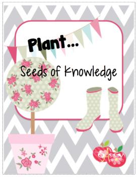 STEM Seeds of Knowledge... Plants