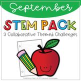 STEM September: Back to School Themed Challenges