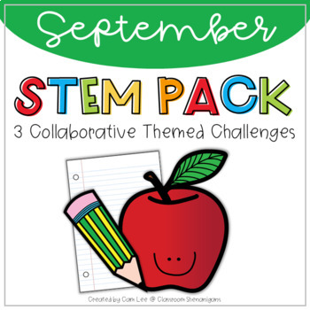 STEM - September Collaborative Learning (Back to School) T