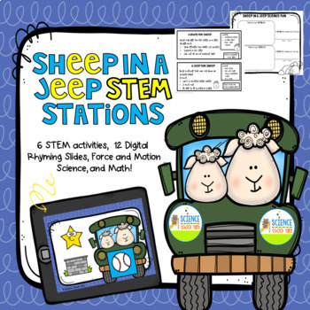 STEM Sheep In A Jeep Theme Pack