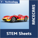 STEM Sheets - Racecars
