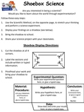 STEM - Shoebox Science