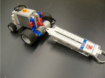 STEM: Simple Machines Gears Experiment Using Legos