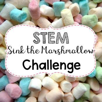 STEM Sink the Marshmallow Challenge