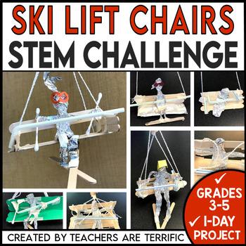 STEM Quick Challenge Ski Lift Chairs