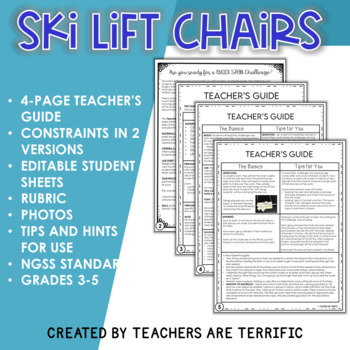 STEM Quick Challenge Ski Lift Chairs