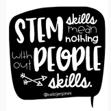 STEM Skills-People Skills Poster