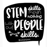 STEM Skills-People Skills Poster