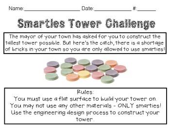STEM Smarties Tower Building Challenge