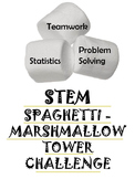 END OF SCHOOL YEAR STEM ACTIVITY:  Spaghetti Marshmallow Challenge