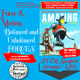 Force&MotionLAB-Balanced or Unbalanced Forces? STEM Spaghetti Action LAB
