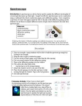 STEAM: Spectroscope