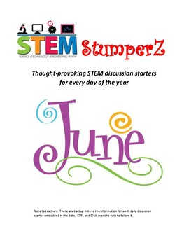 STEM Starters for Administrators - June