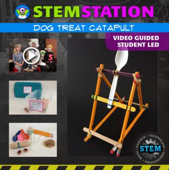 STEM Station Activity: Dog Treat Catapult