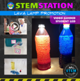 STEM Station Activity: Lava Lamp Promotion