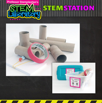 STEM Station Activity: Mail Capsule Delivery