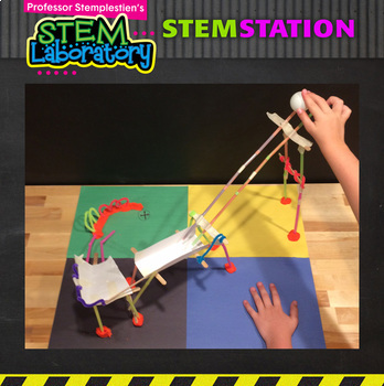 STEM Station Activity: Roller Coaster Birthday Party