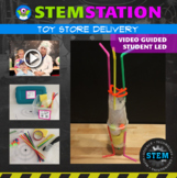 STEM Station Activity: Toy Store Delivery { Distance Learning }