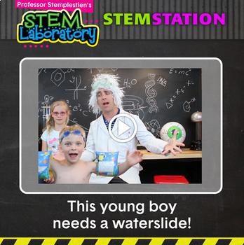 STEM Station Activity: Water Slide