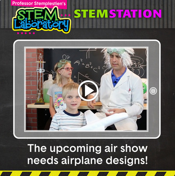 STEM Station Activity: Air Show Competition