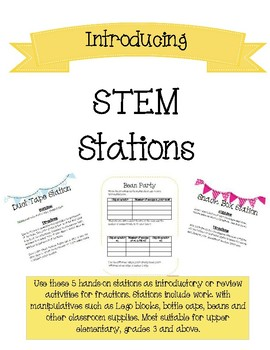 STEM Stations (STEAM Centers)