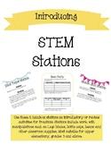 STEM Stations (STEAM Centers)