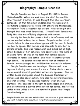 The Girl Who Thought in Pictures: The Story of Temple Grandin