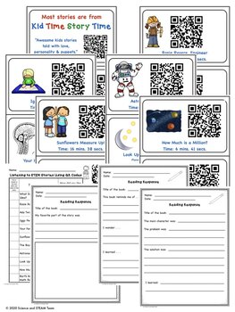 STEM Stories with QR Codes