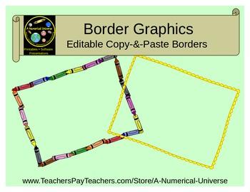 Editable Borders