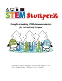 STEM daily discussion starters, journal prompts, and fillers - January