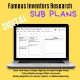 STEM Sub Plans: Famous Inventors Research