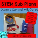STEM Sub Plans - Paper & tape Only supplies needed! - Desi