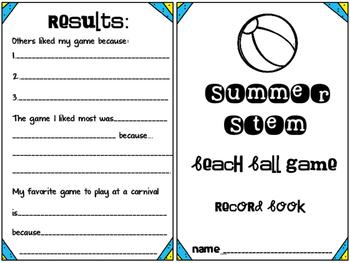 STEM Summer Fun: Beach Ball Game