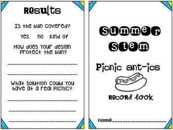 STEM Summer Fun: Picnic Ant-ics