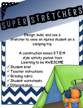 STEM Super Stretchers - Construction based STEM challenge
