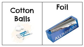 STEM Supply Labels