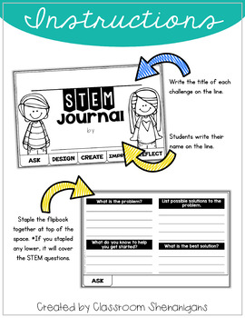 STEM THEMED CHALLENGES for the ENTIRE YEAR - A 10 MONTH BUNDLE!