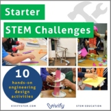 Starter STEM Challenges Bundle (Take-Home/In-Class STEM Projects)