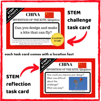 STEM Activities - Student Passport around ASIA