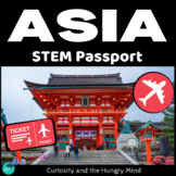 STEM Activities Student Passport around ASIA