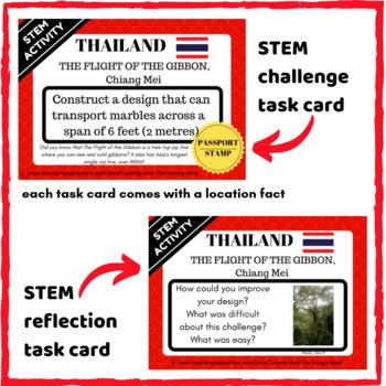 STEM Activities Student Passport around ASIA