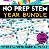 STEM Task Cards, STEAM Activities - GROWING BUNDLE! No Prep!