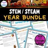 STEM Task Cards, STEAM Activities - GROWING BUNDLE! No Prep!