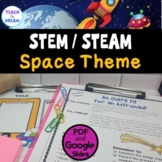 STEM Task Cards, STEAM Activities - Space Theme! NO PREP!